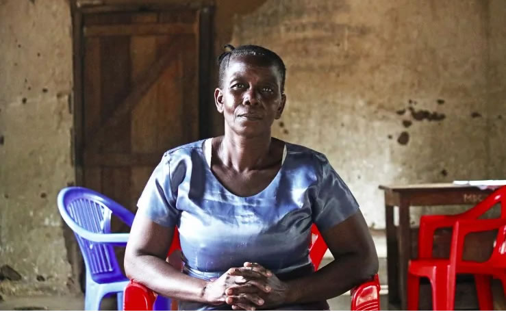 The property rights of Catherine, a widow, have been threatened with violence in Magu, Tanzania. For widows across the globe, their losses can be uncountable, including their human rights. BEN SMALL/HELPAGE INTERNATIONAL